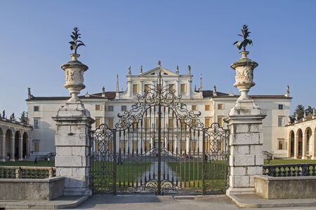 The Villa Manin in Codroipo Udine is a country villa, built in the style of the Venetian nobility.