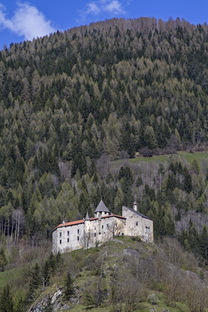 frhling: Castle Sprechenstein - mediaeval stronghold south of Sterzing in South Tyrol