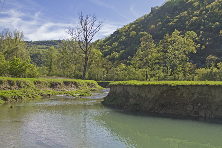 beauties: The Mirna a 53-kilometer long river in Istria offers beautiful landscapes and natural beauties