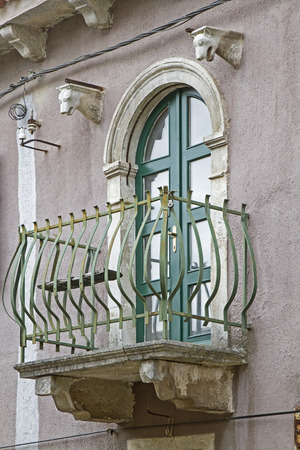 balcony door: Impressions and details from the small Istrian village Oprtalj