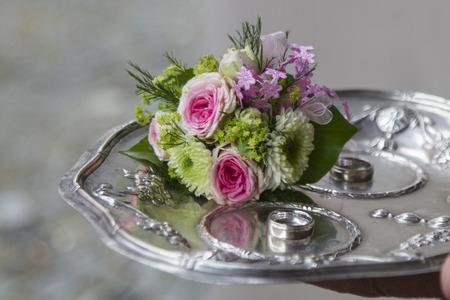 Indispensable utensil for the couple - the wedding rings