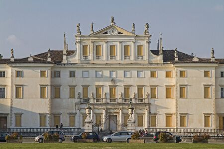 nobility: The Villa Manin in Codroipo Udine is a country villa, built in the style of the Venetian nobility.