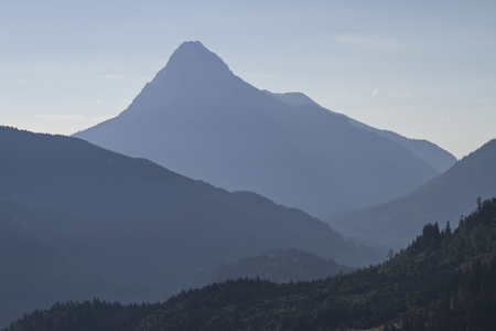 backlights: The Guffert is 2194 high and is in the Brandenberg Alps