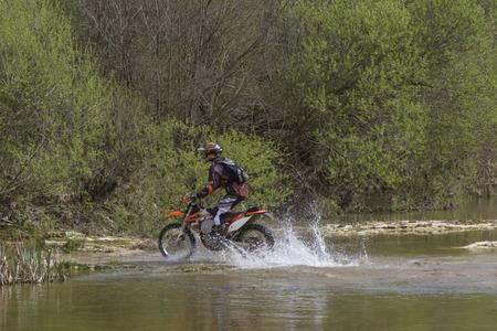 Endurofahrer bei Zarecki Kröv in Istrien