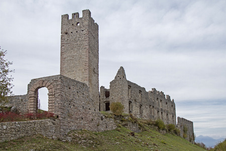 belfort: Belfort Castle is the ruin of the medieval castle in the province of Trento.
