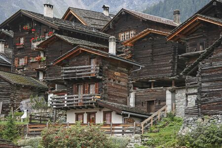 Idyllic impressions and details from the district of Goms, which is located in the Upper Valais