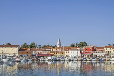 小さなのどかな漁村ノヴィグラード イストリアの西海岸にある半島に 写真素材