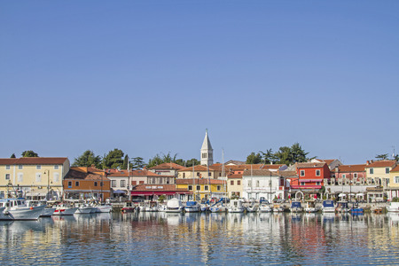 The small idyllic fishing village Novigrad on the Istrian west coast lies on a peninsula