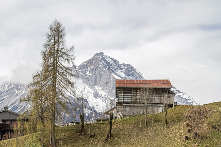 Sauris, German Zahr is a village,  where German is still spoken today. The building is characterized by peculiar wooden houses and typical balconies and wooden houses.