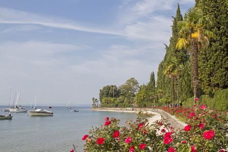 ガルダの北はそれ以上にバルドリーノでラツィーゼから万全の遊歩道の約 10 キロをリードします。