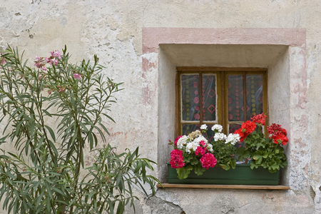 Idyllic details and impressions from a small South Tyrolean village