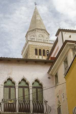 Impressions and details from Koper, a port city on the Slovenian Riviera