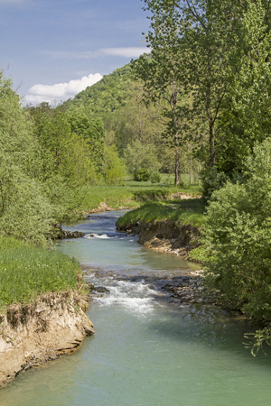 Mirna, a 53 km long river in Istria offers beautiful landscapes and natural beauties