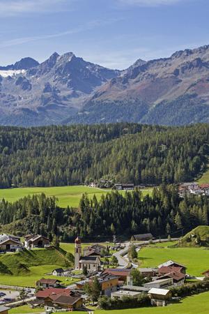 Niederthai, an idyllic little village lies at around 1540 m. in the Horlach valley in the Stubai Alps,