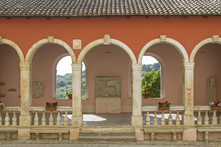 Loggia - Impressions and details from the small Istrian village Oprtali