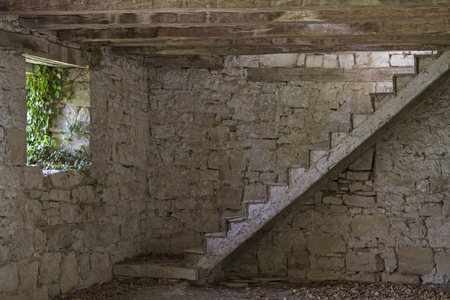 Lost place – Room of a abandoned old farm in the inland of Istria
