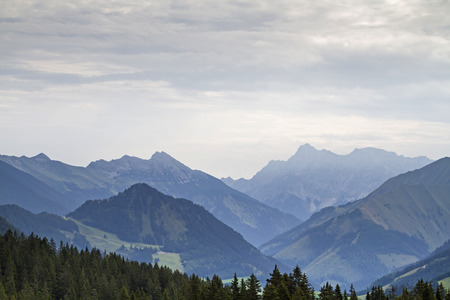 who pass through the Rotlechtal on the popular hiking destination Raazalpe can enjoy this magnificent view of the Wetterstein Mountains with the mighty Zugspitze