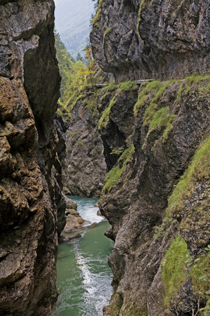 impressions in the Erzherzogjohann klause in Tirol
