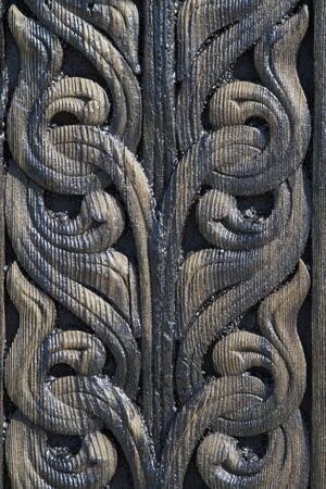 Detail of the stave church Heddal, which is the largest of its kind in Norway at about 26 meters in height