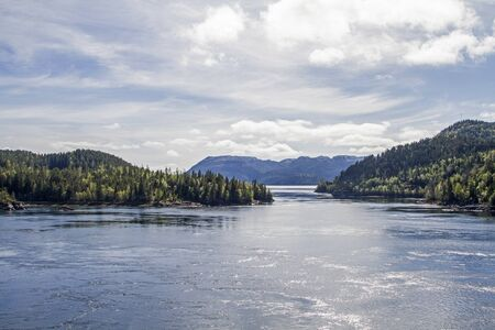The idyllic and almost unknown Blikkengfjord in the Trondelag is an insider tip for many visitors to Norway