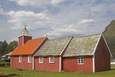 Ardal Kirke was built in 3 stages. With increasing number of believers, the church was extended again and again