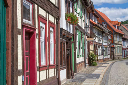The city center of Werningerode largely consists of idyllic half-timbered houses, which were built in Lower Saxony style