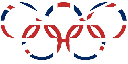 olympic symbol: London games 2012 concept
