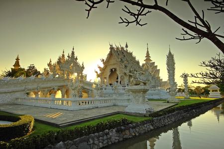 Wat Rong Khun Chiang Rai Thailand photo