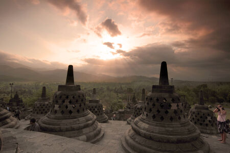 Borobudur, Indonesia photo