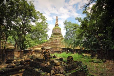 sukhothai: Sukhothai old city thailand