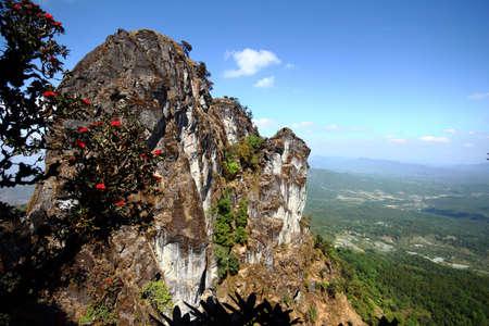 himalayas: mountain sky