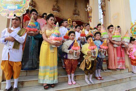 nomination: Thai Culture Buddhism Ordination Ceremony at temple, Thailand. Editorial