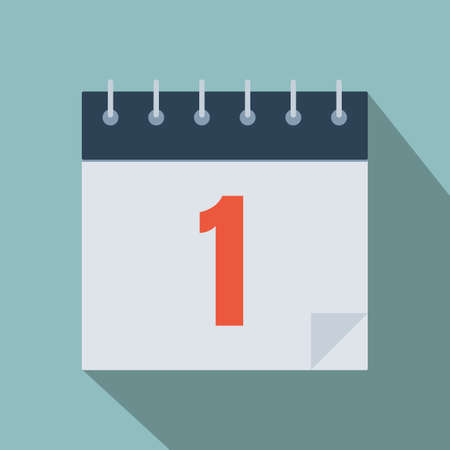 Calendar icon. Planning. Time management. Иллюстрация