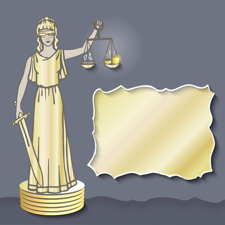 judicature: Gold (dark) Themis. Goddess of corruption.