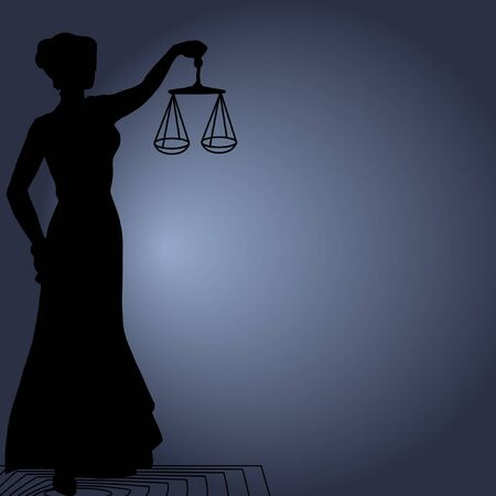 balanza de la justicia: Themis (Femida) - diosa de la justicia. Foto de archivo