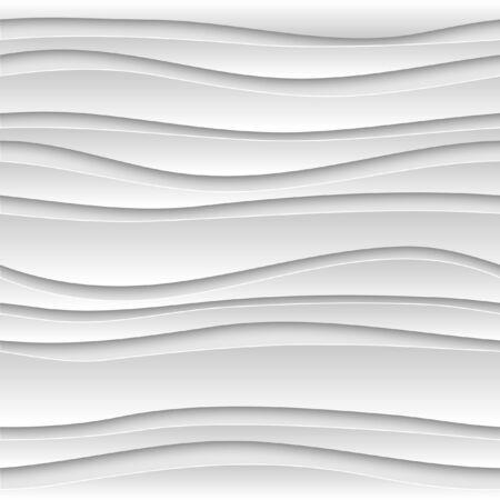 patrones de flores: El extracto inconsútil del fondo 3D esférico blanco. Patrón del vector EPS10. Vectores