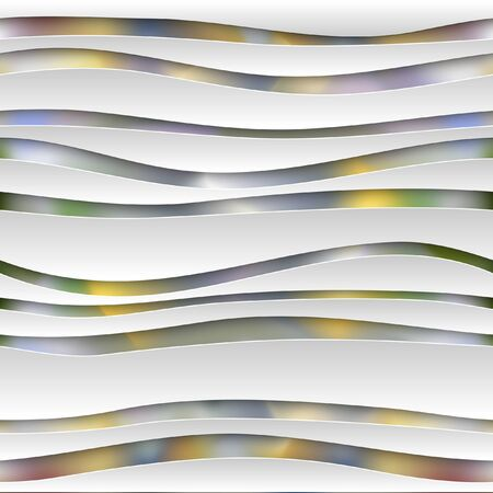 spheric: Seamless abstract 3D white spheric background. Vector EPS10 pattern.