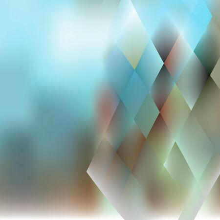 style background: Blurred and Low Poly Style Background Template