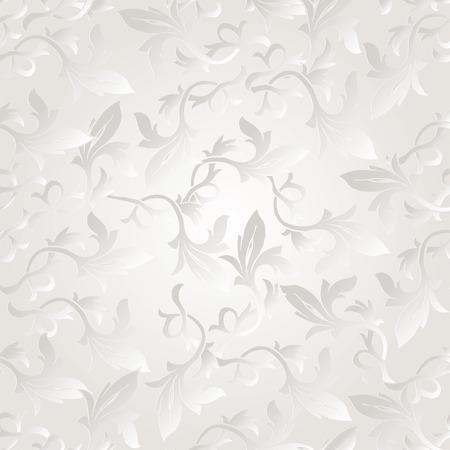 エレガントなスタイリッシュな抽象的な花柄の壁紙。シームレス パターン