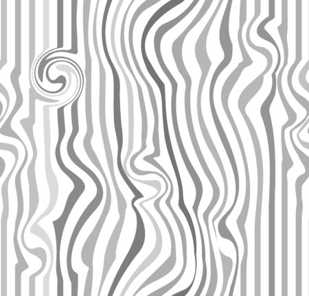 curving lines: Abstract background. Vector illustration of soft lights abstract background. stripes pattern or background with wavy, curving distortion effect. Bending, warped lines. Light gray version.