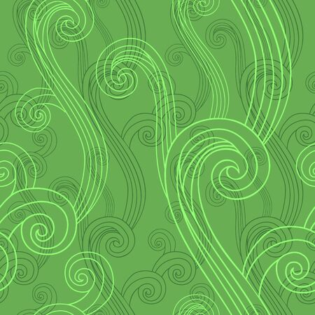 curved lines: Seamless background with curved lines. Eps-8