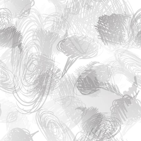 scribbles: Seamless pattern with scribbles frames. Vector abstract Hand drawn background for design and decoration textile, covers, package, wrapping paper.