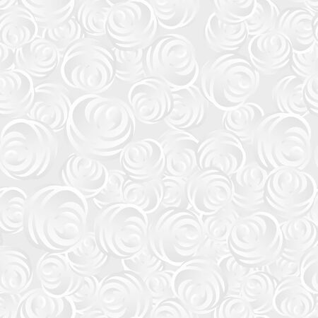Abstract 3D white background with roses.