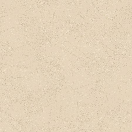 ベージュ ベクトル シームレスのビンテージ テクスチャ、傷や摩擦に古い塗装を模倣します。Eps-8。