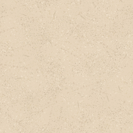 Beige vector seamless vintage texture, imitating an old coating with scratches and rubs. Eps-8. Ilustração
