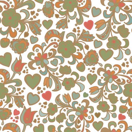 Seamless fabric background pattern. Decorative vector illustration. Light background. Illustration