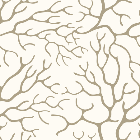 Bare branches, seamless background Vectores