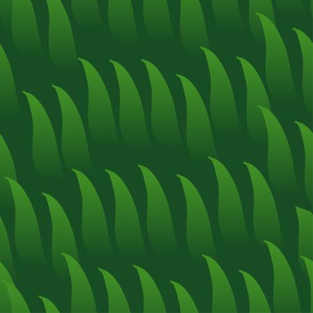Vector seamless cartoon grass green.