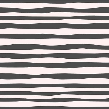 Vector image of jagged, winding, horizontal alternating light and dark lines. Seamless pattern for textile, wallpaper and wrapping paper Çizim