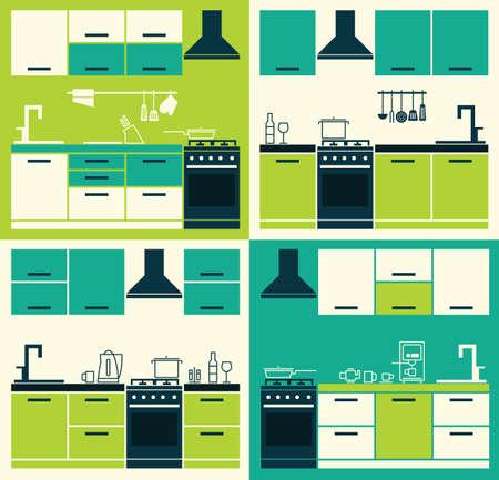 modern interior: Modern Kitchen Interior